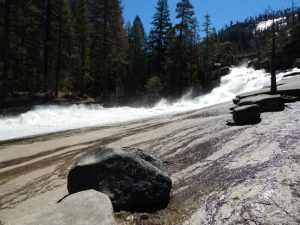 Silver Apron. Above Vernal Fall