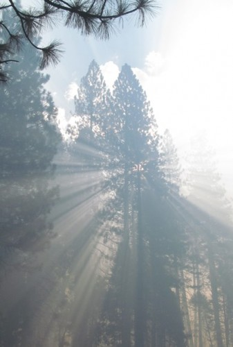 Yosemite smoke effects