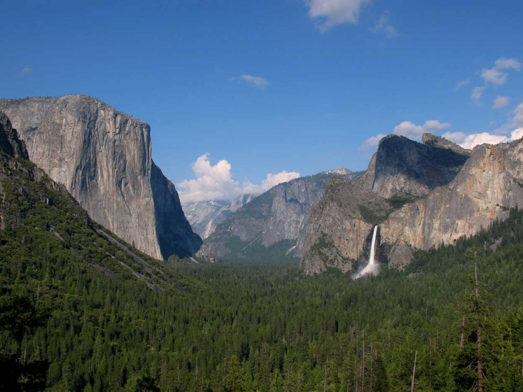 Yosemite Valley from Inspiration Point (Tunnel View)