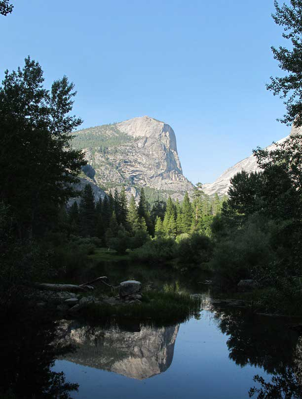Mt. Watkins, Mirror Lake, Tenaya Canyon