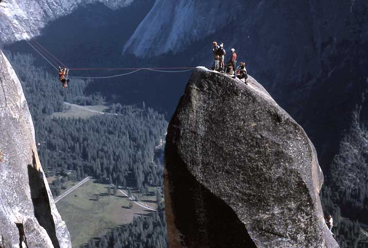 Tyrolean Traverse, Lost Arrow Spire